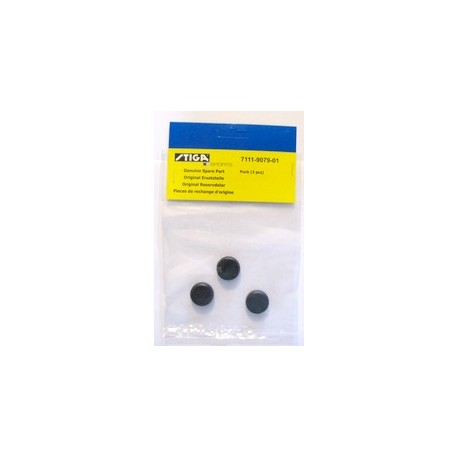 STIGA Pucks, Black (3 Pack)